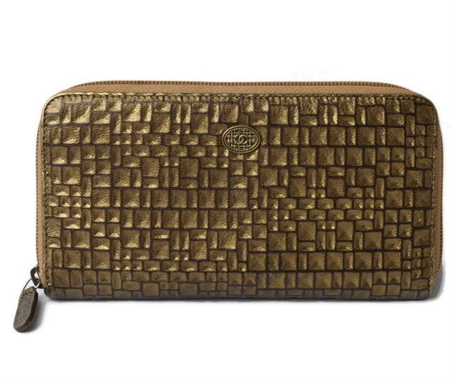 Item - Gold Long Leather Coco Mark Vintage Wallet