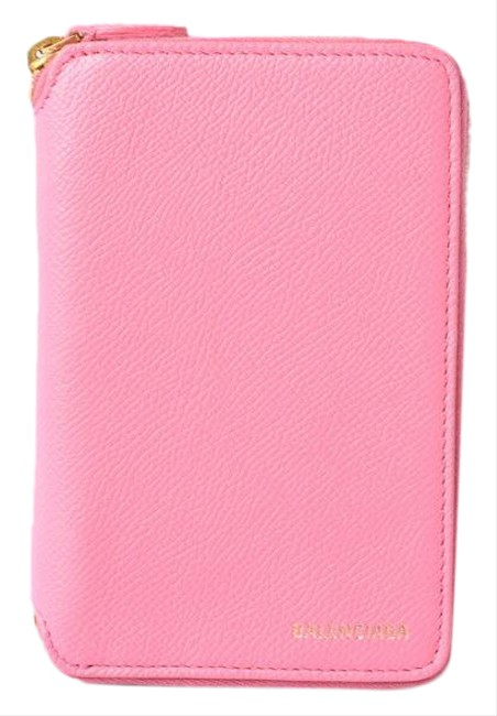 Item - Rose Pink Round Zipper Folding 553888 0otem 5503 Outlet Wallet