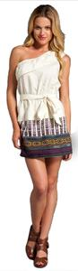 Dolce Vita short dress Beige on Tradesy