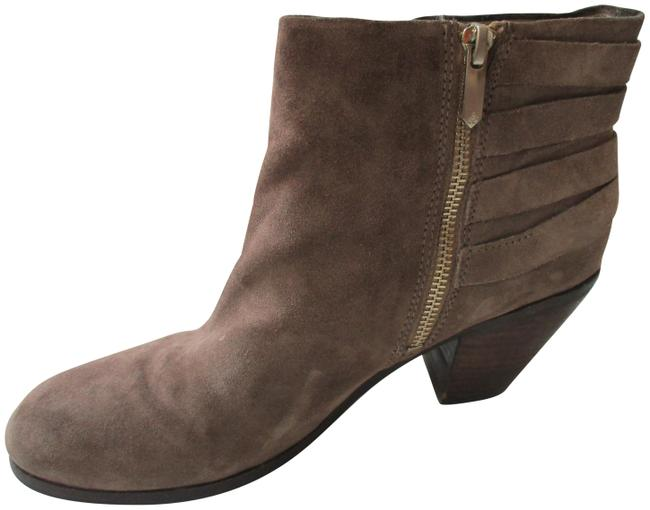 Item - Tan Suede Strappy Boots/Booties Size US 8.5 Regular (M, B)