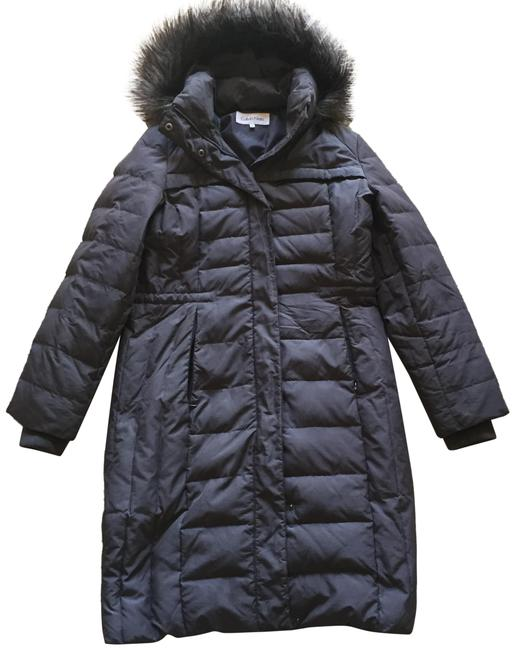 Item - Gray Duck Down Puffer Coat Size 8 (M)