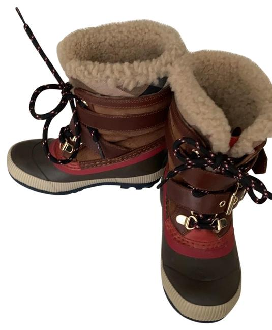 Item - Brown/Red/Tan Mini Windmere Boots/Booties Size US 11 Regular (M, B)