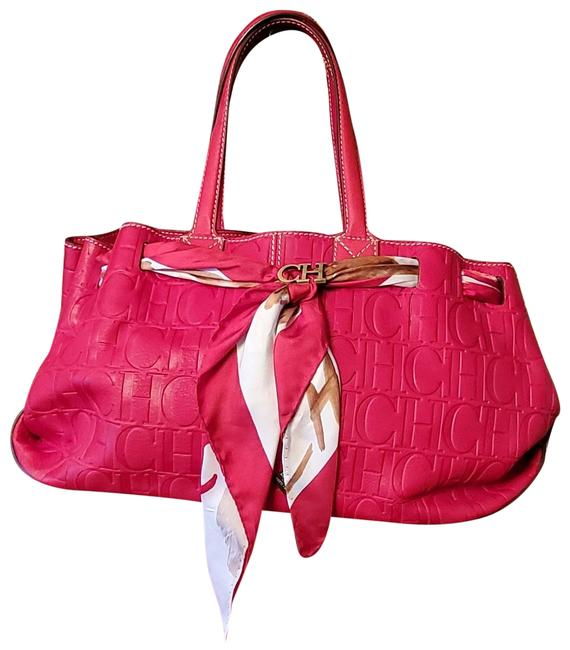 Item - Monogram / Scarf Red Leather Shoulder Bag
