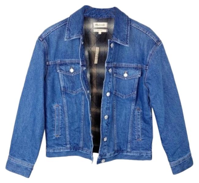 Item - Blue The Boxy Quilted Edition Jacket Size 4 (S)