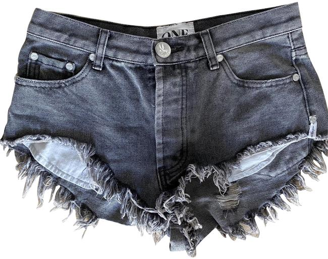 Item - Gray Rollers Shorts Size 0 (XS, 25)
