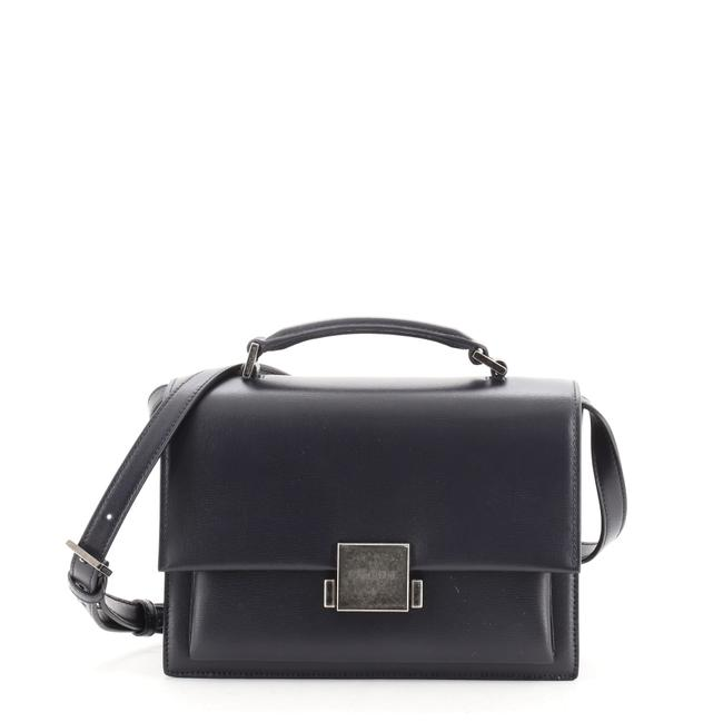 Item - Bellechasse Small Blue Leather Satchel