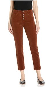 Item - Dusty Auburn Isabelle High-rise Crop Pants