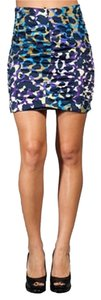 Nanette Lepore Mini Skirt Multi color