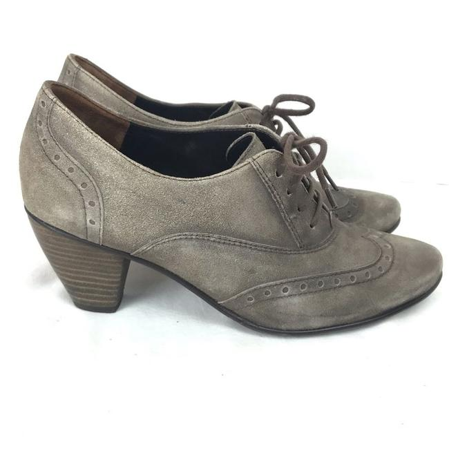 Item - Gray Kelsey Suede Oxford Wing Boots/Booties Size US 6.5 Regular (M, B)