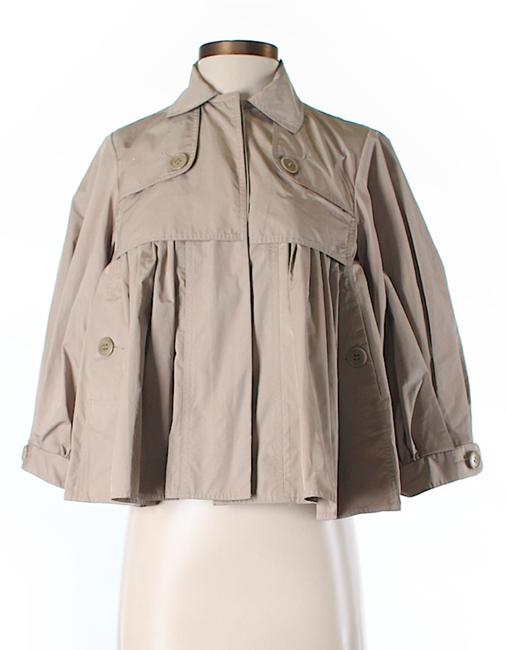Item - Beige Kaki Grey Greyge Light Jacket Size 0 (XS)