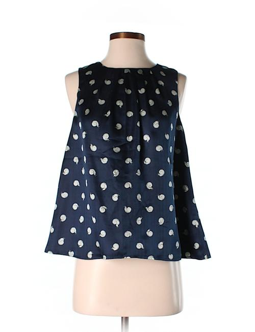 Item - Blue White Cream Blouse Tank Top/Cami Size 0 (XS)