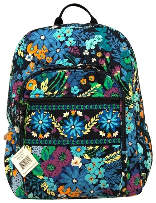 Item - Campus Midnight Blue Cotton Backpack