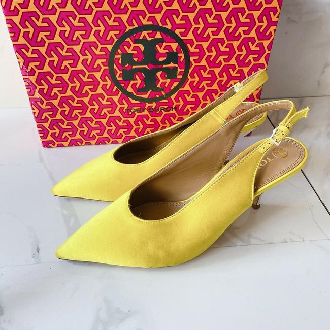Item - Yellow 70 Pointed Toe Pumps Size US 9 Regular (M, B)