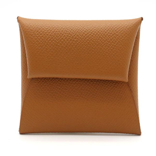 Item - Gold Bastia Coin Purse Epson Leather Wallet