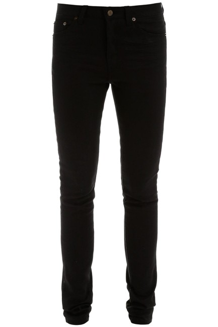 Item - Black High Rise Fit Skinny Jeans Size 28 (4, S)