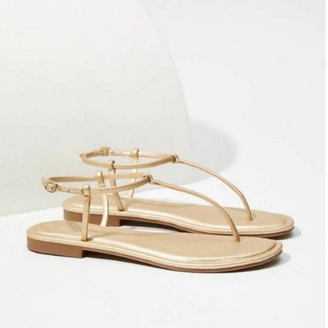 Item - Gold New Modern Sandals Size US 8 Regular (M, B)