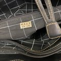 Maxx New York Bag Canvas and Leather Cream Tote Maxx New York Bag Canvas and Leather Cream Tote Image 8