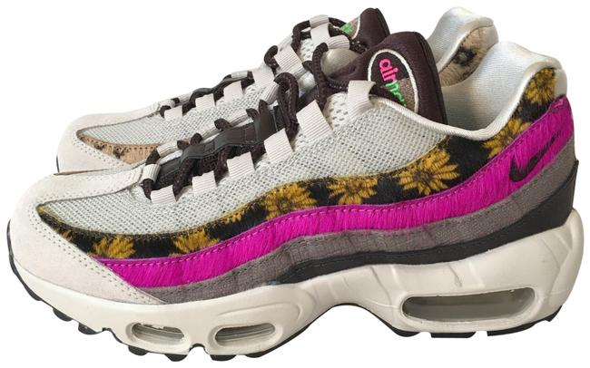 Item - Pink Beige Green Off-white Air Max 95 Prm Daisy Chain Sneakers Size US 6.5 Regular (M, B)
