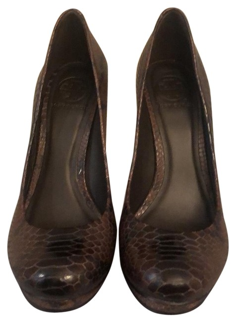 Item - Brown Jude Pumps Size US 8 Regular (M, B)