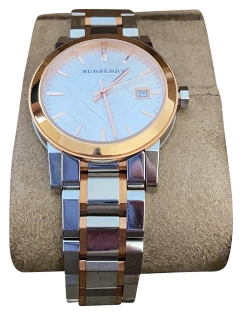 Item - Silver and Rose Gold Women's Bu9127 Watch
