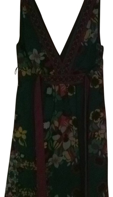 H&M Multi Color Cn 170/88a Above Knee Short Casual Dress Size 8 (M) H&M Multi Color Cn 170/88a Above Knee Short Casual Dress Size 8 (M) Image 1