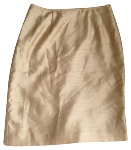 Le Suit Casual Skirt Gold