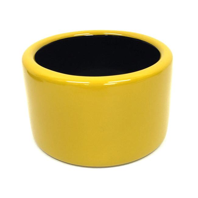 Item - Black / Yellow Bangle Unisex Bracelet