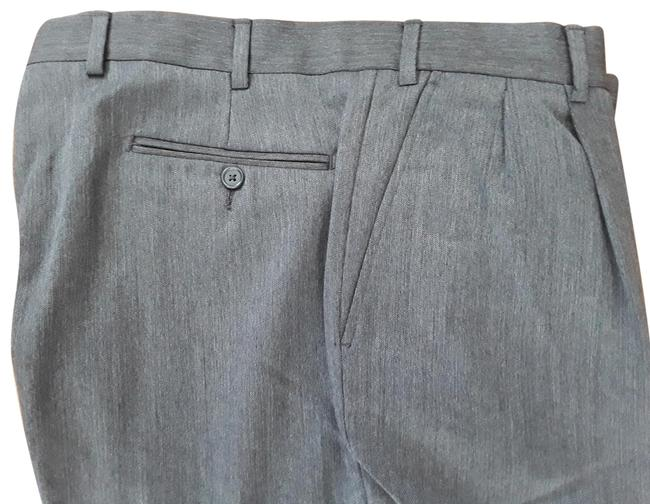Item - Gray Wool Made In Italy 36x32 Pants Size 14 (L, 34)