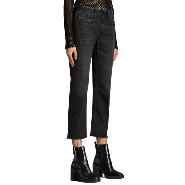 Item - Washed Black Dark Rinse Philly Straight Leg Jeans Size 26 (2, XS)