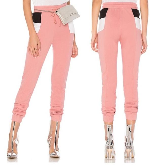 Item - Pink White XS Colorblock Sweatpant In Mulled Rose Multi New Pants Size 0 (XS, 25)