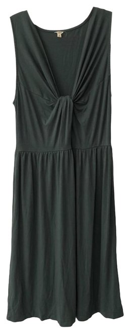 Item - Green Jersey Knit Drift Mid-length Casual Maxi Dress Size 4 (S)