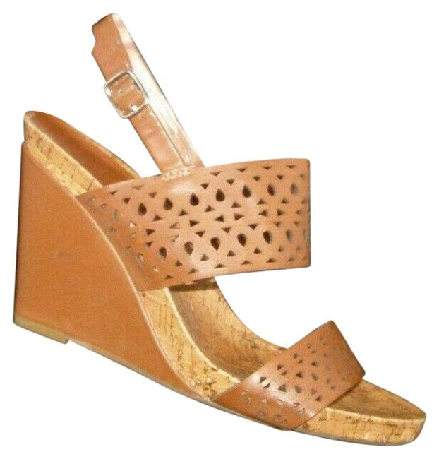 Item - Brown Wedges Size US 8.5 Regular (M, B)