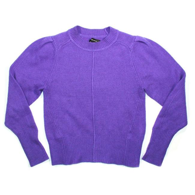Item - Electric Purple / Violet Conroy Cashmere Knit Sweater Rare Women's Us - 36 Blouse Size 4 (S)