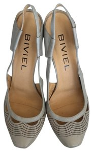 Biviel Grey Pumps