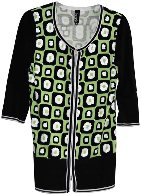 Item - Multi-color Twinset Sweater & Shell Embellished Cardigan Size Petite 10 (M)