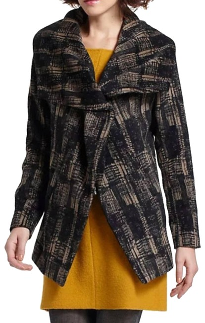 Item - Tan Anthro Funktional Modernist Shawl Collar Sm Coat Size 6 (S)
