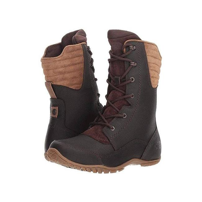 Item - Brown Purna Luxe Tall Waterproof Leather Coffeebean Boots/Booties Size US 7 Regular (M, B)
