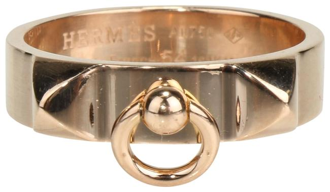 Item - Pink Gold 18kt Collier De Chein Size 7 Ring