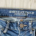 American Eagle Outfitters Blue Stretch Distressed 4 Jeggings Size 27 (4, S) American Eagle Outfitters Blue Stretch Distressed 4 Jeggings Size 27 (4, S) Image 2