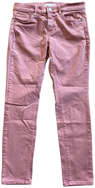 Item - Pink Made & Loved Petites 27/4 Modern Crop Act W28.5 X I26 Skinny Jeans Size 27 (4, S)