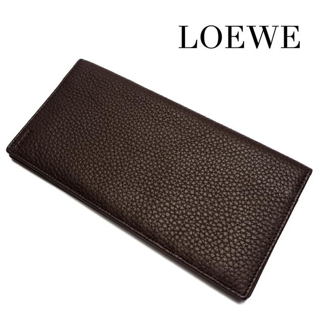 Item - Dark Brown Bi-fold Long Leather Men's Wallet