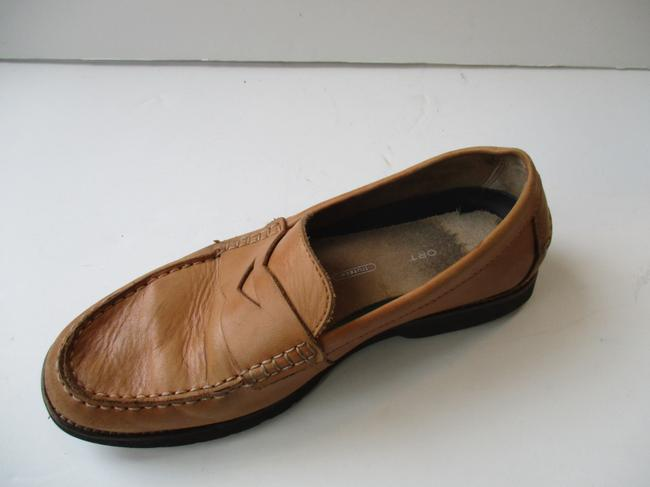 Item - Camel Classic Tan Penny Moccasin Loafer Shoes