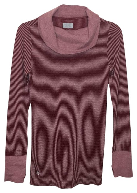 Item - Red XS Remarkawool Base Layer Turtleneck Long Sleeve Wool Blend Activewear Top Size 2 (XS)