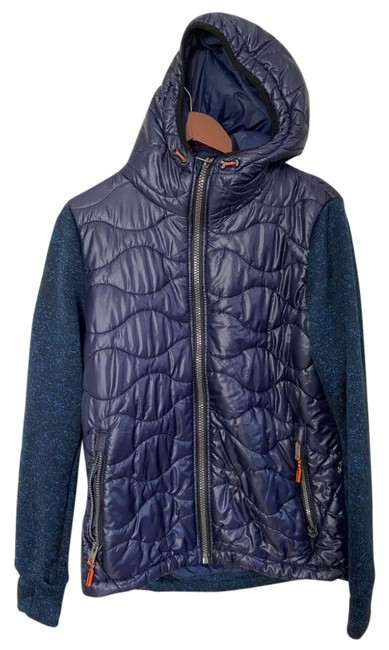 Item - Navy Blue Women's Quilted Large Msrp Jacket Size 12 (L)
