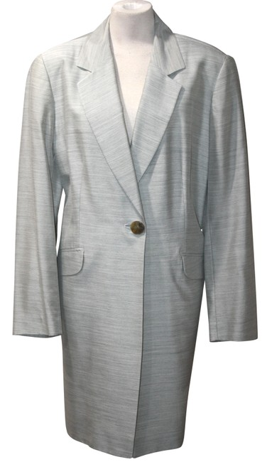 Item - Light Grey Forma Silk Blend Jacket Size 16 (XL, Plus 0x)