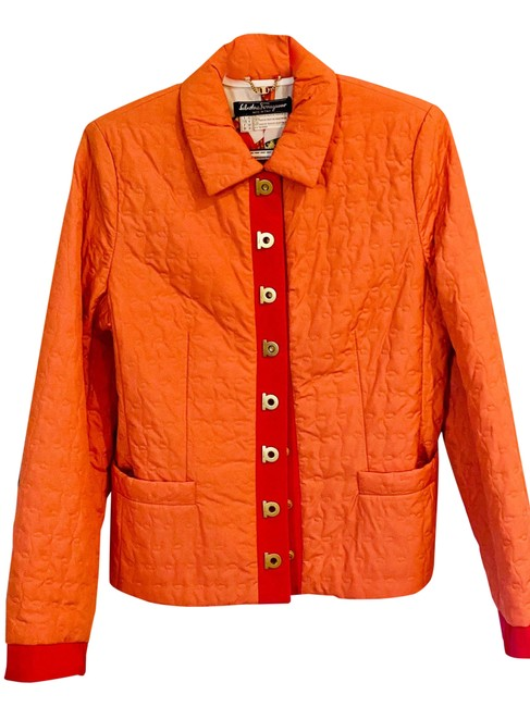 Item - Orange and Pink Jacket Size 8 (M)