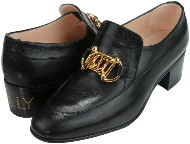 Item - Black Horsebit Ebal Leather Loafers With Formal Shoes Size EU 37.5 (Approx. US 7.5) Narrow (Aa, N)