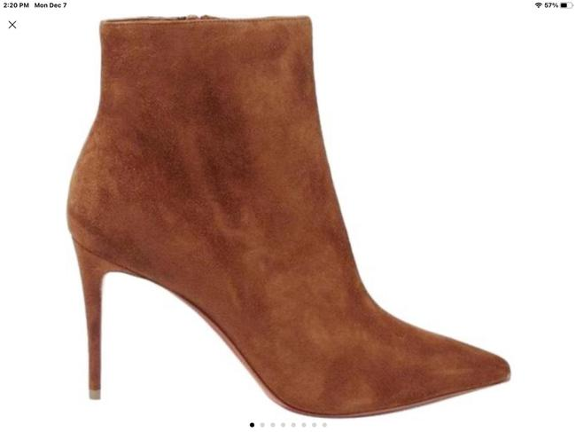 Item - Brown So 85 Suede Leather Ankle Boots/Booties Size EU 38 (Approx. US 8) Regular (M, B)