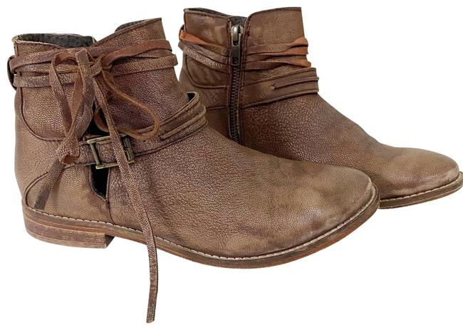 Item - Brown Distressed Ankle Boots/Booties Size EU 36 (Approx. US 6) Regular (M, B)