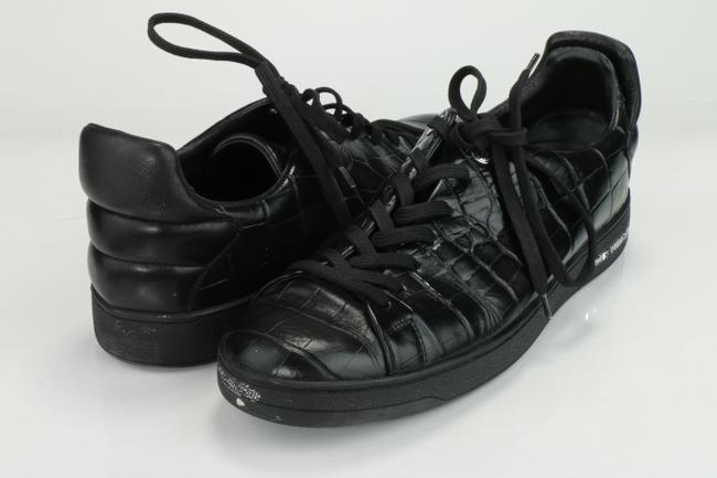Item - Black Frontrow Sneakers Shoes